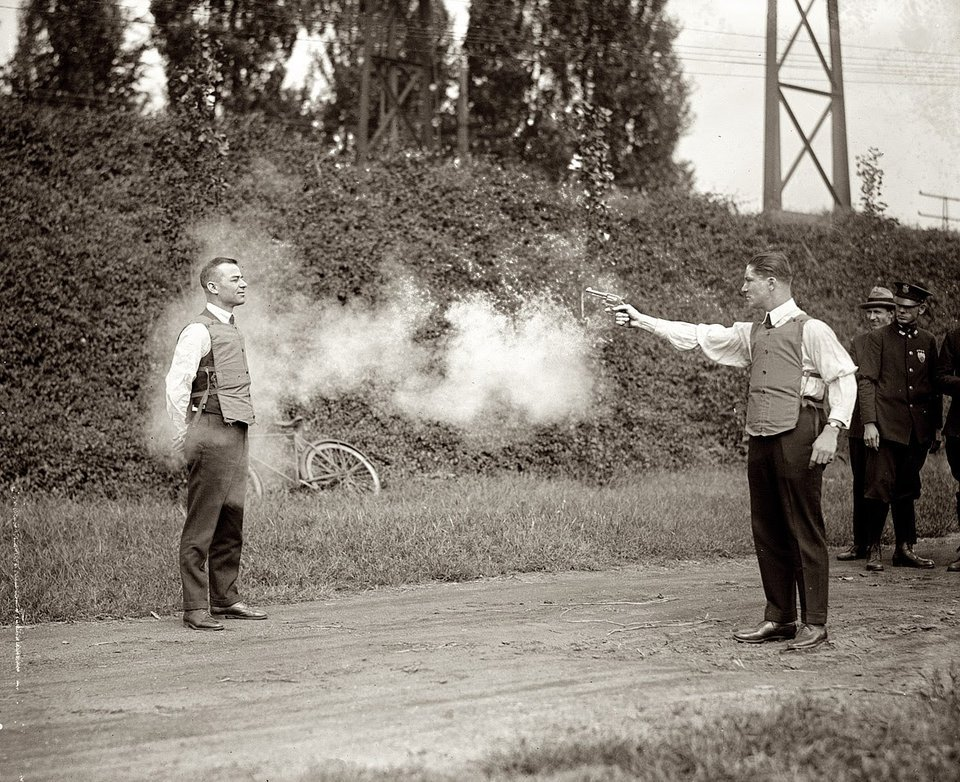 The First Bulletproof Vest