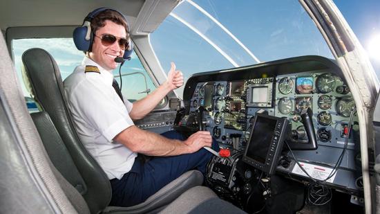 become pilot