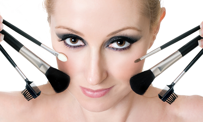 apply make up