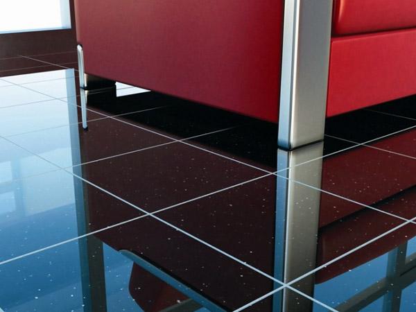 clean granite tiles