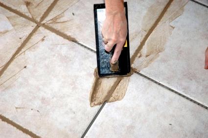 clean grout floors
