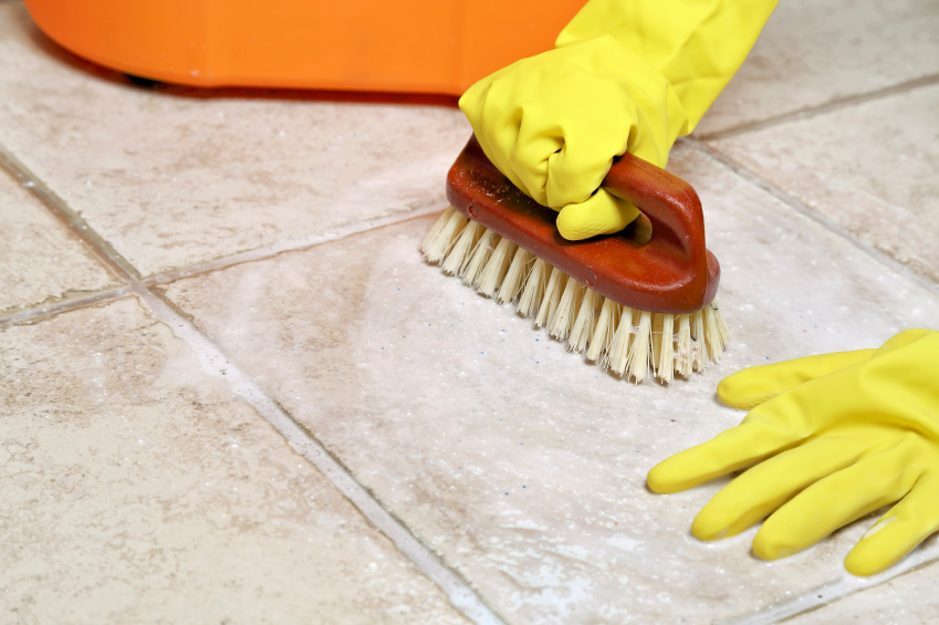 floor srubbing
