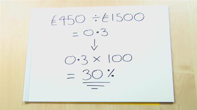 how to work out percentages quickly